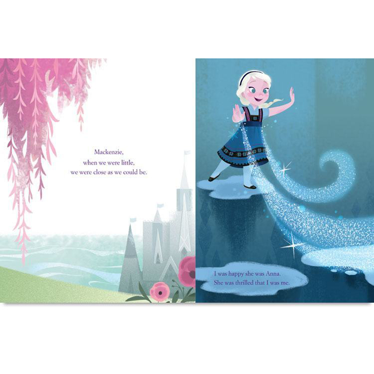 disney s frozen you are my best friend personalized book